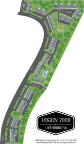 Legacy @ 2000 Grounds Map 2021